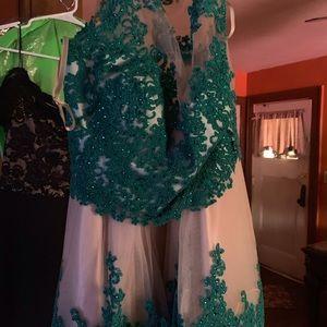 Short homecoming dress.